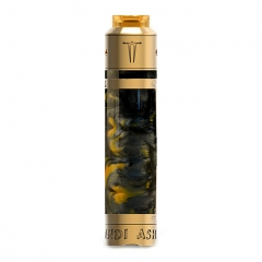 Authentic Sigelei Laisimo A.L ASHKANDI 25mm Mechanical Mod + RDA Kit - Black