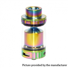 AZEROTH Style 24mm RTA Rebuildable Tank Atomizer 4.5ml - Rainbow