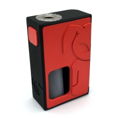 S-Rabbit Style 18650 Squonk Box Mod w/ 8ml Bottle - Red