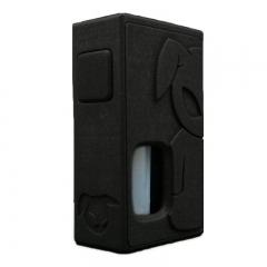 S-Rabbit Style 18650 Squonk Box Mod w/ 8ml Bottle - Black