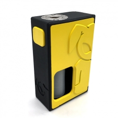 S-Rabbit Style 18650 Squonk Box Mod w/ 8ml Bottle - Yellow