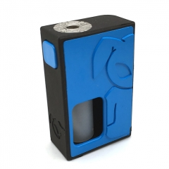 S-Rabbit Style 18650 Squonk Box Mod w/ 8ml Bottle - Blue