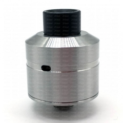 (Ships from Germany)Ulton Pocket 22mm Rebuildable Dripping Atomizer RDA w/Bottom Feeding Pin - Silver