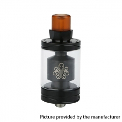 Authentic Cthulhu Hastur 24mm MTL RTA Rebuildable Tank Atomizer 3.5ml - Black