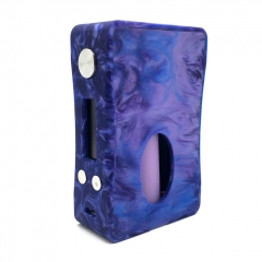 Authentic Aleader Box Killer 80W BF Squonker TC VW Variable Wattage Resin Mod w/7ml Bottle - Purple