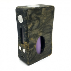 Authentic Aleader Box Killer 80W BF Squonker TC VW Variable Wattage Resin Mod w/7ml Bottle - Black Orange