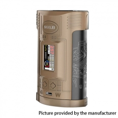 Authentic Sigelei GW 257W VW Variable Wattage Temerpature Control  Mod - Coffee Black + Gold