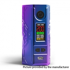 Authentic Laisimo Defender 200W TC VW Variable Wattage Box Mod - Purple