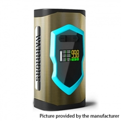 Authentic Laisimo Warriors 230W TC VW Variable Wattage 18650/20700  Box Mod - Brass