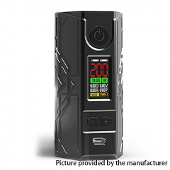 Authentic Laisimo Defender 200W TC VW Variable Wattage Box Mod - Black