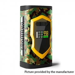 Authentic Laisimo Warriors 230W TC VW Variable Wattage 18650/20700  Box Mod - Camouflage