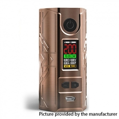 Authentic Laisimo Defender 200W TC VW Variable Wattage Box Mod - Copper