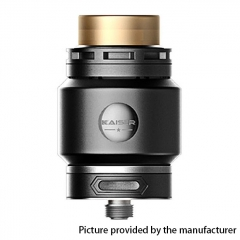 Authentic SMOKJOY Fat Kaiser 24mm RTA Rebuildable Tank Atomizer 3ml - Black