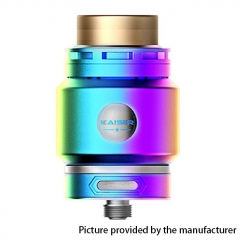 Authentic SMOKJOY Fat Kaiser 24mm RTA Rebuildable Tank Atomizer 3ml - Rainbow