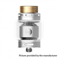 Authentic SMOKJOY Fat Kaiser 24mm RTA Rebuildable Tank Atomizer 3ml - Silver