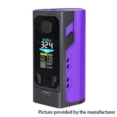 Authentic IJOY Captain X3 324W TC VW APV Mod w/ Batteries - Purple