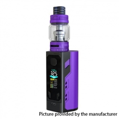 Authentic IJOY Captain X3 324W TC VW APV Mod w/Captain X3 Subohm Tank 6/8ml w/ Batteries - Purple