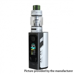 Authentic IJOY Captain X3 324W TC VW APV Mod w/Captain X3 Subohm Tank 6/8ml w/ Batteries - White