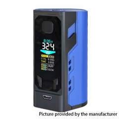 Authentic IJOY Captain X3 324W TC VW APV Mod w/ Batteries - Blue