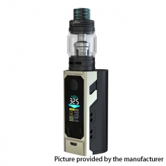 Authentic IJOY Captain X3 324W TC VW APV Mod w/Captain X3 Subohm Tank 6/8ml w/ Batteries - Silver
