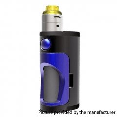 Authentic DOVPO Armour 18650 Mechanical Mod Squonk Kit - Black Purple