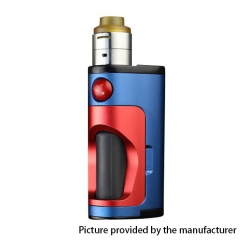 Authentic DOVPO Armour 18650 Mechanical Mod Squonk Kit - Blue Red