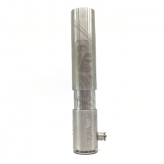 Kongestus Style 26650 Mechanical Mod Limited Edition by SER - Silver