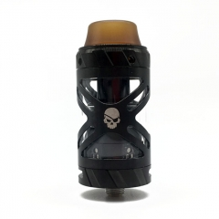 Authentic Teslacigs UFO 25mm RTA Rebuildable Tank Atomizer 3ml - Black