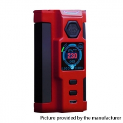 Authentic Sigelei Snowwolf Vfeng-S 230W VW Variable Wattage Box Mod - Red