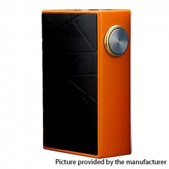 Authentic Arctic Dolphin Crea BF Squonk 18650 Mechanical Box Mod - Orange