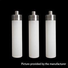 YFTK 510 Central Silicone Dropper Bottle 15ml (3pcs) - White