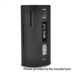 Authentic SBody VapeDroid C1D2 18650/26650 DNA75W TC VW APV Box Mod - Black
