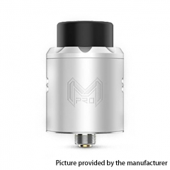 Authentic Digiflavor Mesh Pro 25mm RDA Rebuildable Dripping Atomizer w/ BF Pin - Silver