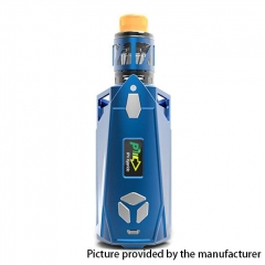 Authentic Pioneer4You iPV Xyanide 200W TC VW APV Mod Kit w/2.2ml Atomizer - Blue