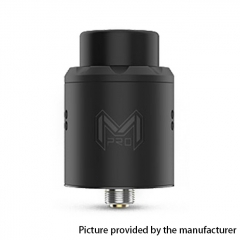 Authentic Digiflavor Mesh Pro 25mm RDA Rebuildable Dripping Atomizer w/ BF Pin - Black