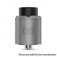 Authentic Digiflavor Mesh Pro 25mm RDA Rebuildable Dripping Atomizer w/ BF Pin - Gray