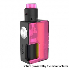 Authentic Vandy Vape 24mm Pulse BF 18650/20700 Squonk Box Mod + Pulse 24 BF RDA Kit w/8ml Bottle - Frosted Pink