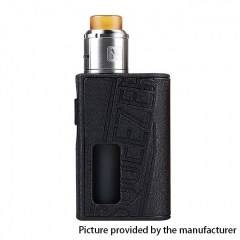 Authentic Hugo Vapor 25mm Squeezer BF 18650 / 20700 Squonk Box Mod + N RDA w/10ml Bottle Kit - Black