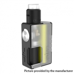 Authentic Vandy Vape 24mm Pulse BF 18650/20700 Squonk Box Mod + Pulse 24 BF RDA Kit w/8ml Bottle - Frosted White