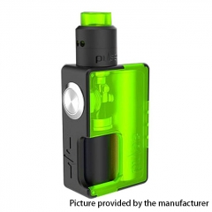 Authentic Vandy Vape 24mm Pulse BF 18650/20700 Squonk Box Mod + Pulse 24 BF RDA Kit w/8ml Bottle - Frosted Green