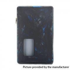 Authentic Vpdam Leon 18650/20700 Mechanical Squonk Box Mod w/7ml Bottle - Black Blue