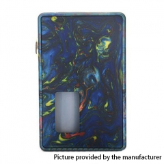 Authentic Vpdam Leon 18650/20700 Mechanical Squonk Box Mod w/7ml Bottle - Blue