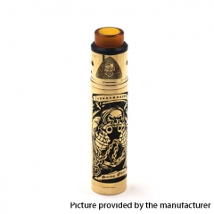 AXIS Style 18650 Mechanical Mod Kit 24mm - Brass