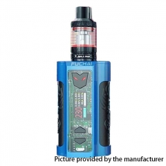 Authentic Sigelei Fuchai MT-V 230W TC VW Variable Wattage Box Mod + ST3 Tank Kit - Blue