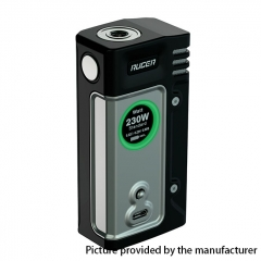 Authentic ThinkVape Ruger 230W Dual 18650 TC VW Variable Wattage Box Mod - Silver