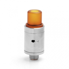 Viper V2 Style 14mm RDA Rebuildable Dripping Atomizer w/ Bottom Feeder Pin - Silver
