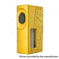 Authentic Hugo Vapor Squeezer 18650/20700 BF Squonk Mechanical Mod w/8ml Bottle - Yellow