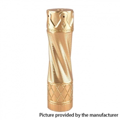 Scepter Style 18650 Hybrid Mechanical Mod - Brass