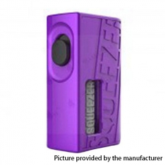 Authentic Hugo Vapor Squeezer 18650/20700 BF Squonk Mechanical Mod w/8ml Bottle - Purple