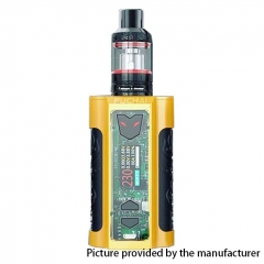 Authentic Sigelei Fuchai MT-V 230W TC VW Variable Wattage Box Mod + ST3 Tank Kit - Yellow